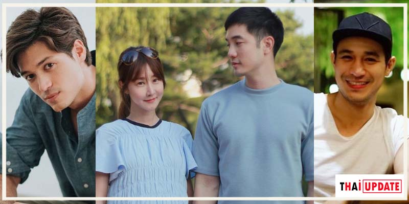 Thai actors who have Korean girlfriends and wives