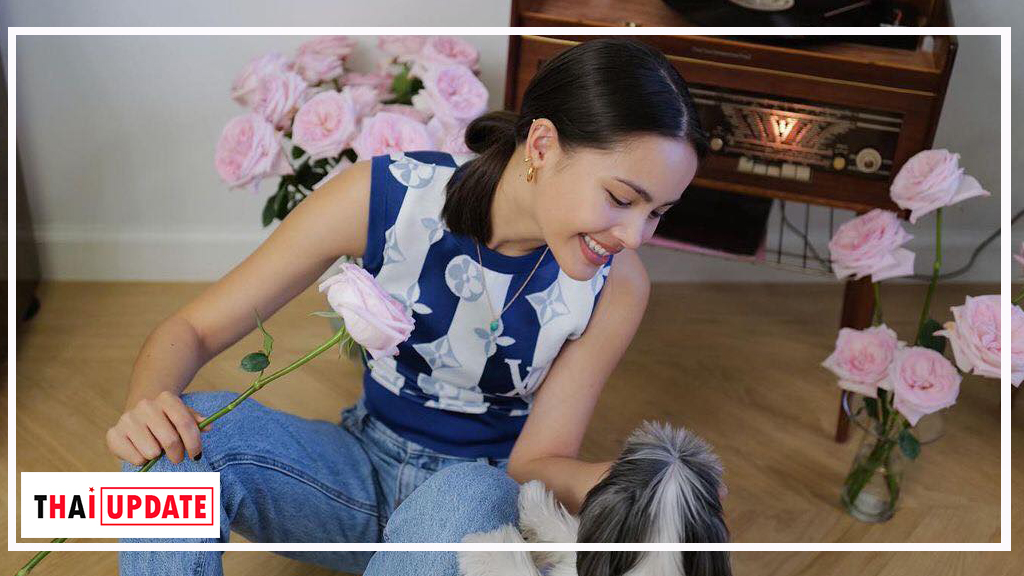 Yaya Urassaya got a very special gift and wish from Nadech Kugimiya for her birthday